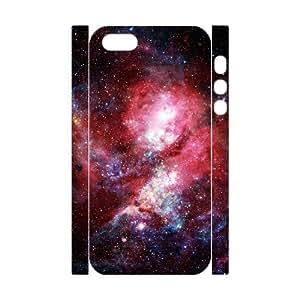 3D IPhone 5,5S Case Dat Nebula, [White]