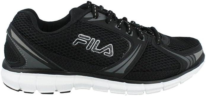 Fila Memory Aerosprinter 2 Zapatilla de Running de la Mujer, Negro (Negro/Plateado), 9 B(M) US: Amazon.es: Zapatos y complementos