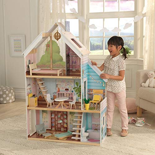 KidKraft 65960 Zoey Dollhouse with EZ Kraft Assembly