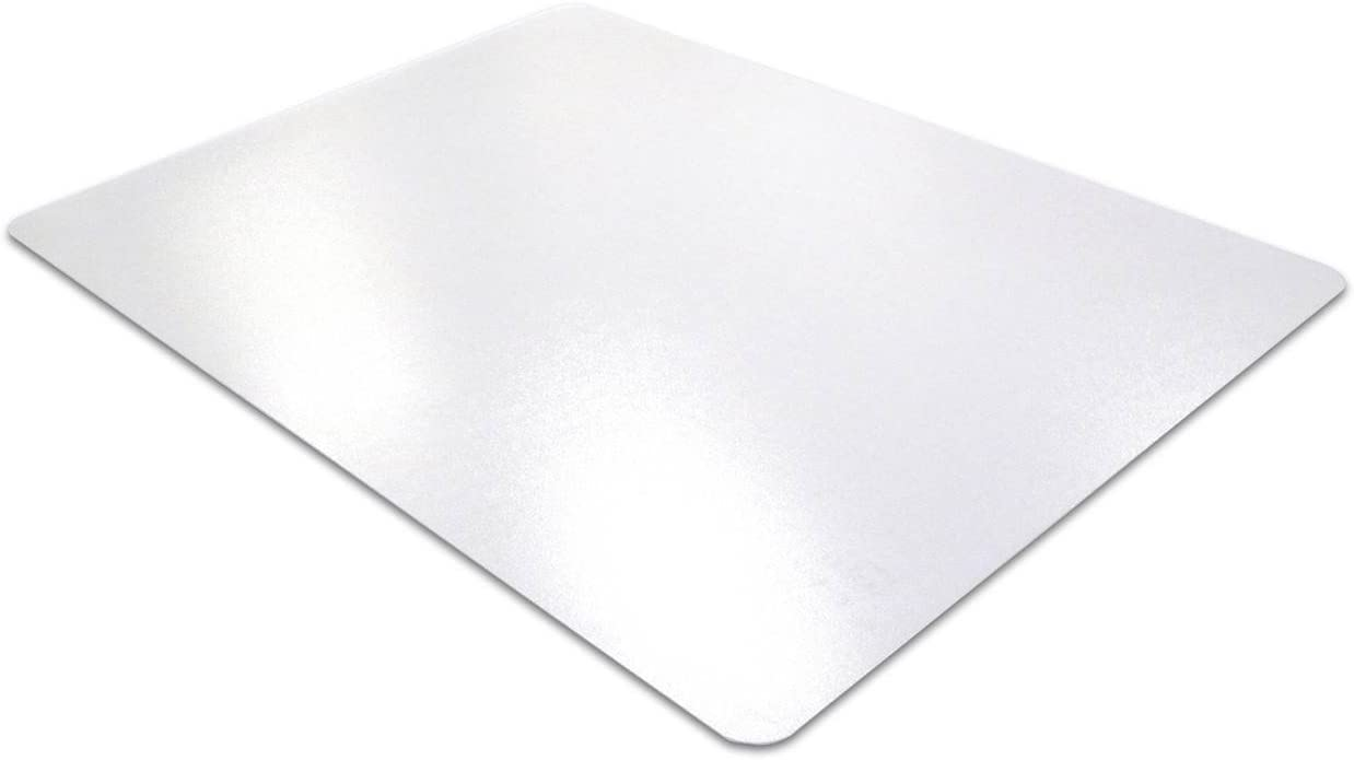Mammoth Office Products Polycarbonate Office Chair Mat for Low to Standard Pile Carpets, 48 x 51 Rectangular