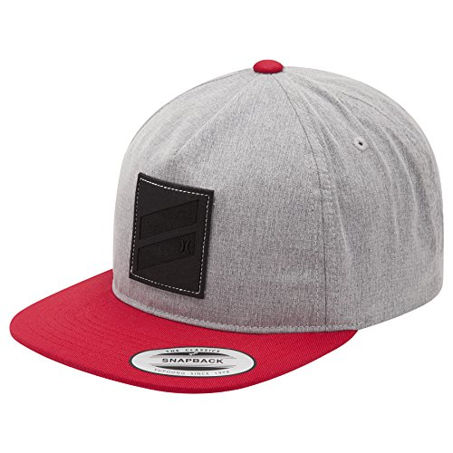 Mens New Icon (New Hurley Men's Icon Slash 2.0 Hat Red)