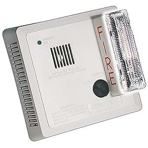 Gentex 7109CS-C 120VAC Ceiling Mounted Photoelectric Smoke Alarm