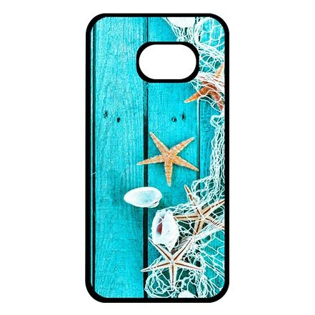 Designed Cool Wood Grain With Beach Theme Best Case Protection for Samsung Galaxy S8 Plus, Samsung S8 Plus Dust Proof Lightweight Cases For Women