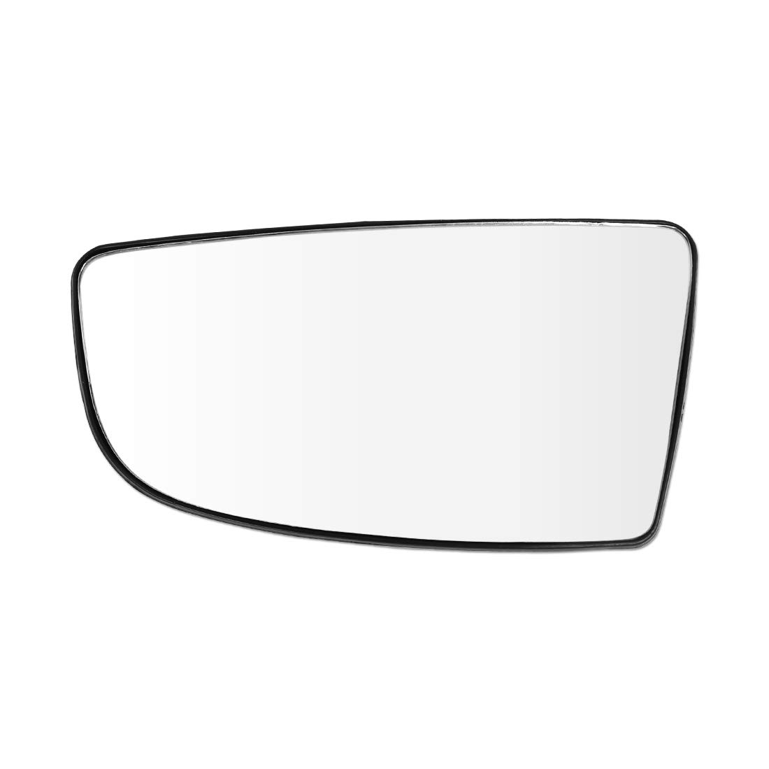 uxcell Right Side Lower Convex Mirror Glass with Backing Plate for Ford Transit T150 T250 T350 2015-2017