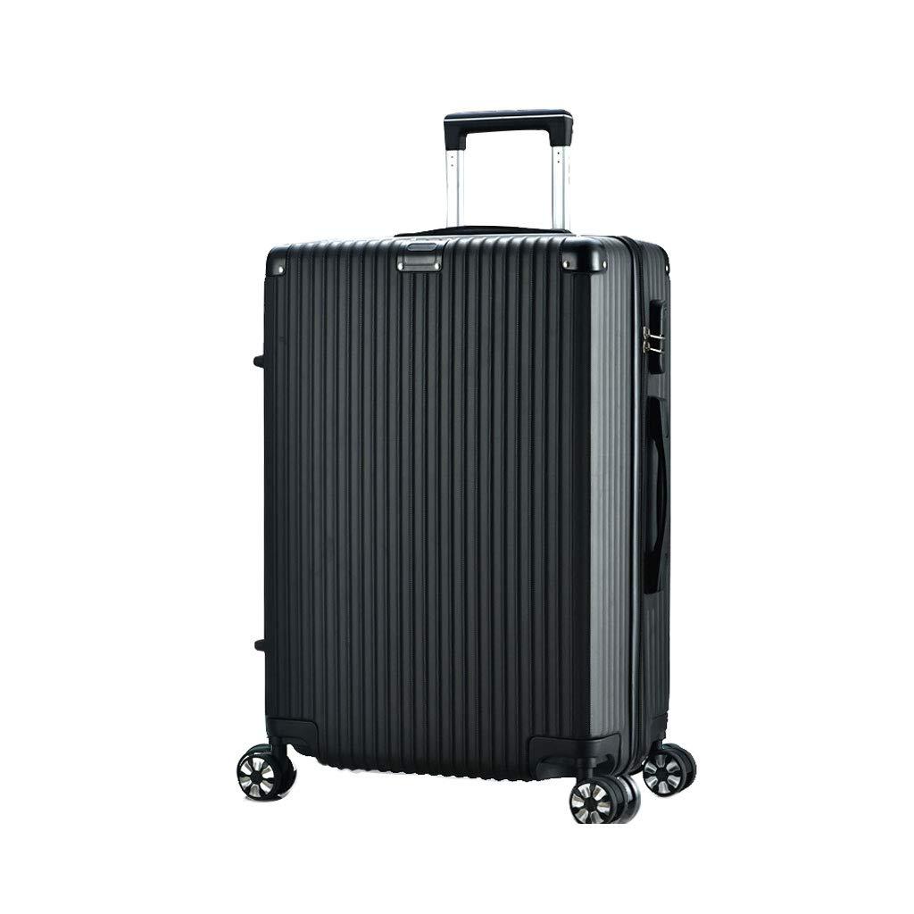 スーツケース超軽量ABSハードシェル旅行は4つのホイール、航空&詳細情報のために承認されたハードシェルトロリーサイズのアドオンキャビンハンド荷物スーツケースキャリー 39*25*58cm  B07P6HHRLY