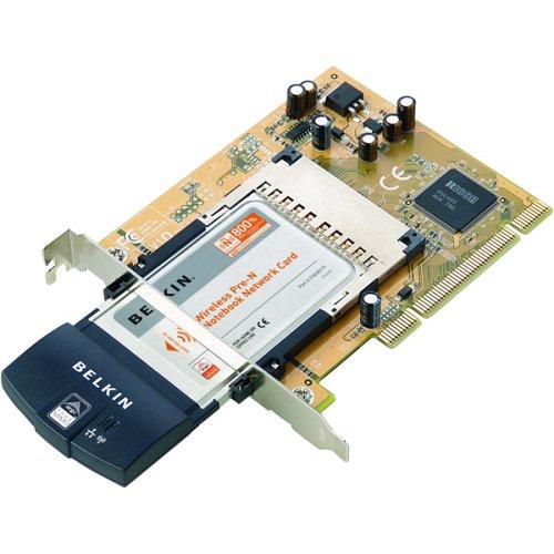 Belkin F5D8000 Wireless Pre-N Desktop Network Card