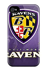 New Diy Design Baltimore Ravens For Iphone 4/4s Cases Comfortable For Lovers And Friends For Christmas Gifts