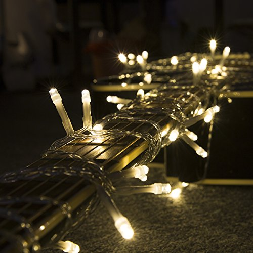 amazoncom loende christmas lights outdoor string lights 72ft 200 led 8 modes indoor string lights with remote fairy led string lights for home garden