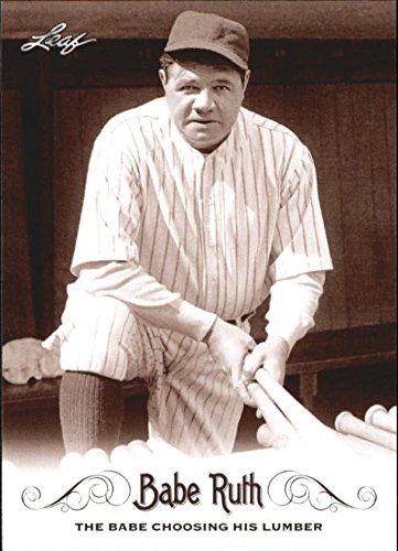 2016 Leaf Babe Ruth Collection 52 Babe Ruth Baseball Card