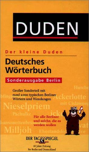 Deutsches Wörterbuch Sonderausgabe Berlin: Großer Sonderteil mit rund 2.000 typischen Berliner Wörtern und Wendungen