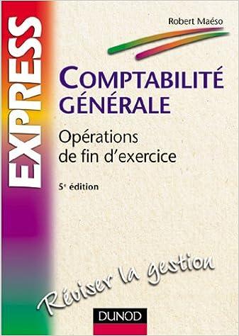 Téléchargement Comptabilité générale : Opérations de fin d'exercice pdf, epub