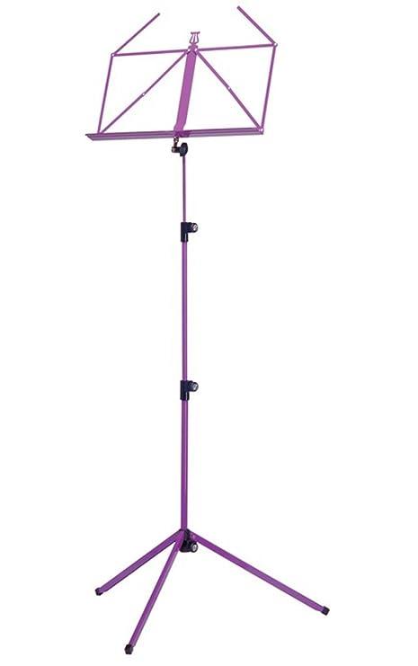 K&M 100/1 - Atril, color morado: Amazon.es: Instrumentos musicales
