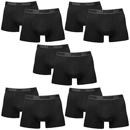 Black Lot Homme Basic Boxer Sous 10 Puma Court vêtements dgPq80n57x