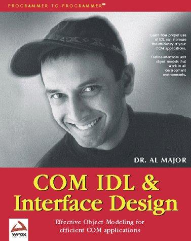COM IDL and Interface Design by Brand: Apress