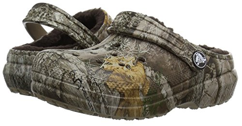 e21b5c0d9231b Crocs Kids' Classic Realtree Edge Lined Clog, Khaki, 12 M US Little Kid