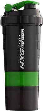 Hivexagon Multi-Almacenamiento Proteína Mezclador Capacidad 500 ml
