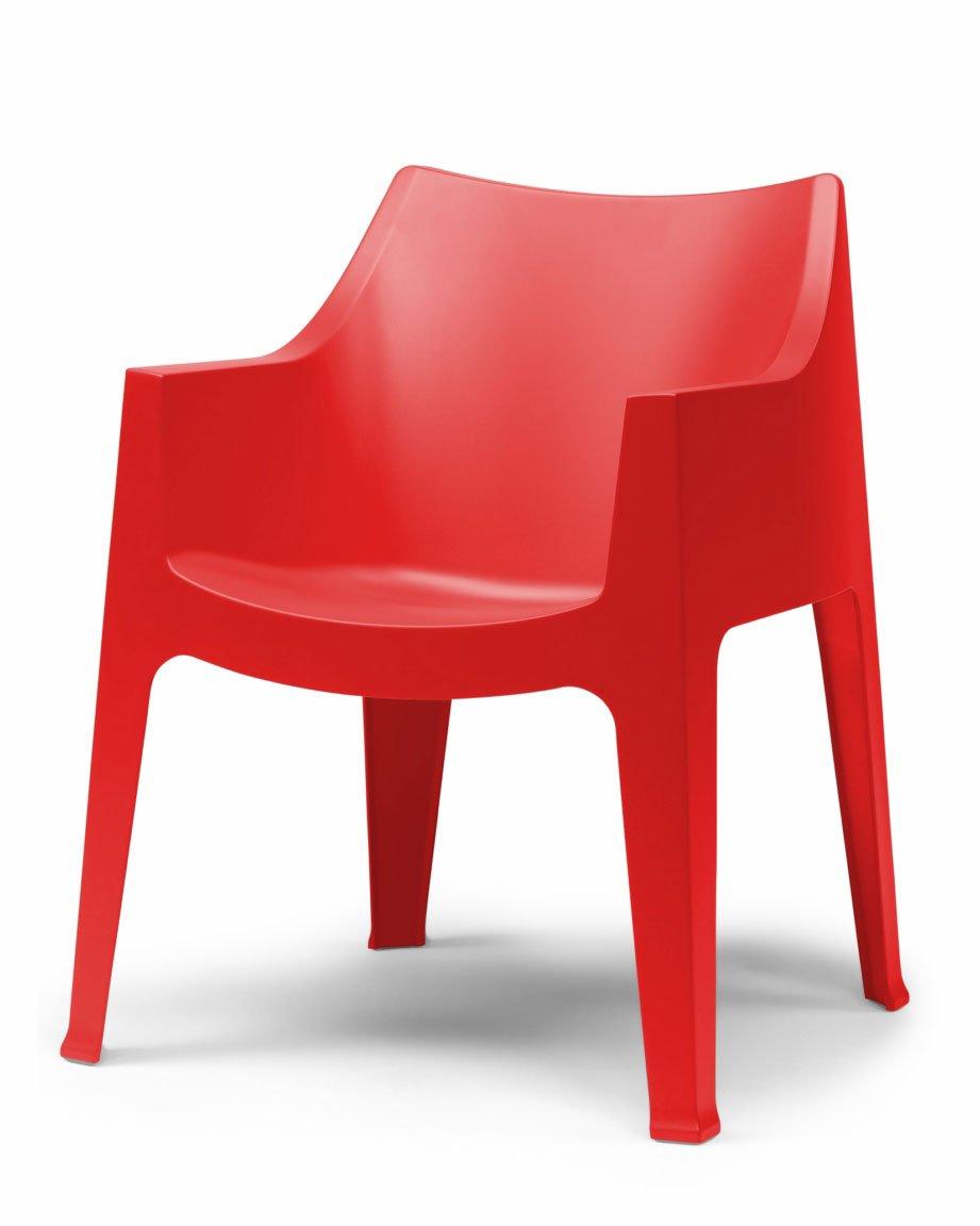 2320 4 Stühle Scab Coccolona Bar, Küche, Restaurant Masion modernes Polipro...