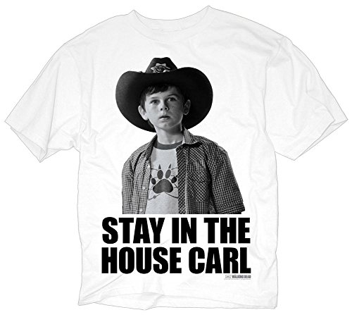 The Walking Dead: Stay In The House Herrens T-Shirt
