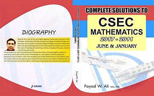 Amazon complete csec mathematics solutions jan june 2011 complete csec mathematics solutions jan june 2011 2017 by ali fayad fandeluxe Images