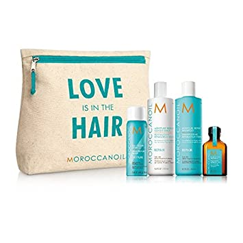 MOROCCANOIL Love Is In The Hair Repair Travel Kit 4 products + Cosmetic Bag
