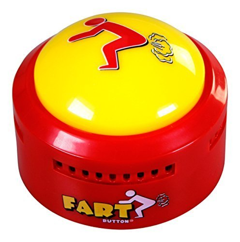 Talkie Toys Products Fart Button (New and Improved -- Farts ONLY Version) (Cushions Wacky)