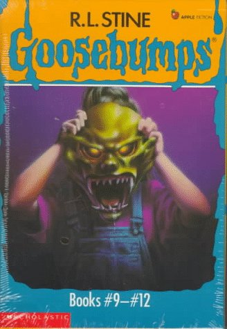 Goosebumps Boxed Set, Books 9-12: Welcome to Camp Nightmare, The Ghost Next Door, The Haunted Mask, and Be Careful What You Wish For