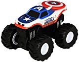 Best Hot Wheels Book For 3 Year Old Boys - Hot Wheels Monster Jam Rev Tredz Captain America Review