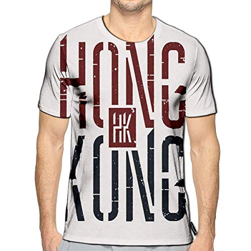 3D Printed T-Shirts Hong Kong Short Sleeve Tops Tees