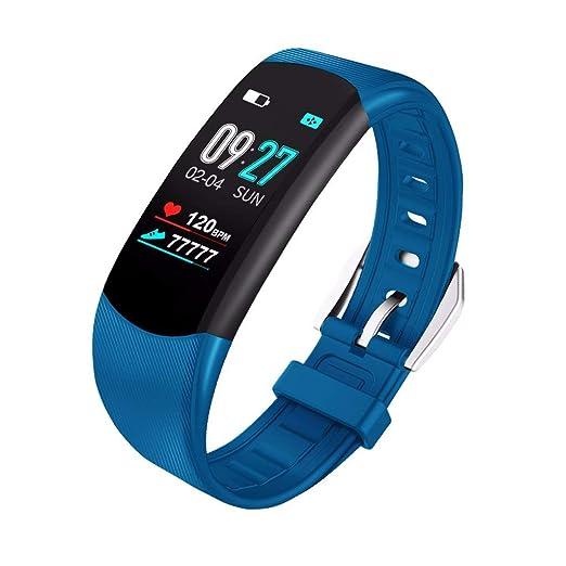 985fd0263557 OPAKY Pulsera de Actividad Reloj Inteligente Smart Watch Deportes Fitness  Actividad Monitor de Ritmo cardíaco Presión Arterial Calorías Actividad ...