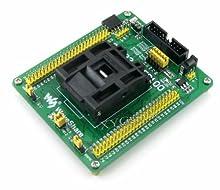 STM32-QFP100 STM32 STM32F(F1 F2 F4) QFP100 LQFP100 0.5mm pitch Program Programmer Programming JTAG SWD Port Yamaichi IC Test & Burn-in IC51-1004-809 Socket Board Adapter @XYG