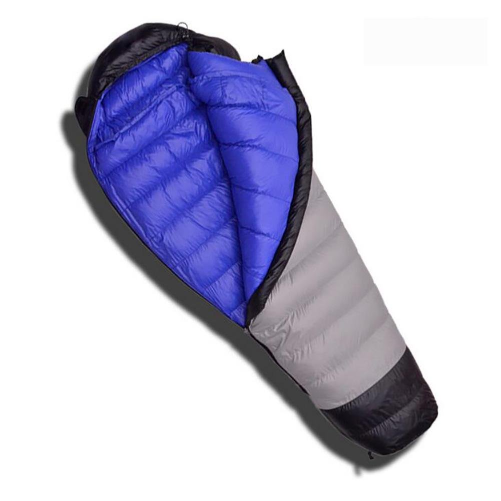 MIAO Sleeping Bags - Outdoor Camping 1500g Down Mummy Sleeping Bag, Suitable For Home / Office Lunch Break / Overtime and Other Occasions , blue
