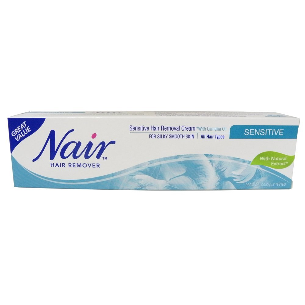 Nair SENSITIVE Hair Removal Cream 80ml (pack of 6)