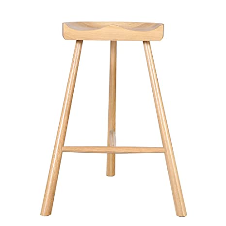 Amazon Com Beech Wood Kitchen Bar Stool Chair Modren