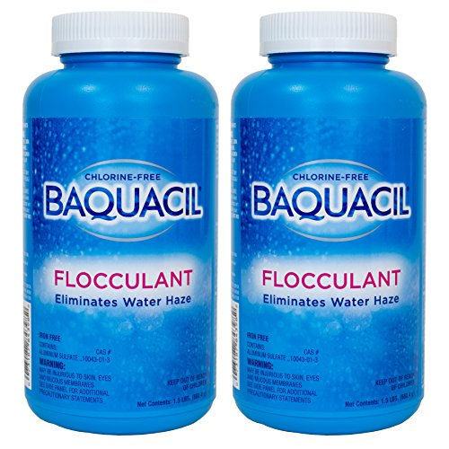 Baquacil Flocculant - 1.5 lbs. -2 Pack