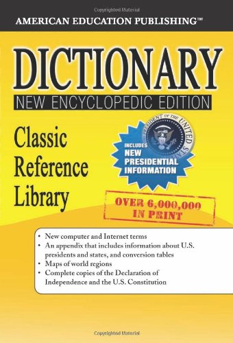 Download Dictionary, Grades 6 - 12: Classic Reference Library (Classic Reference Library (American Education Publishing)) pdf epub