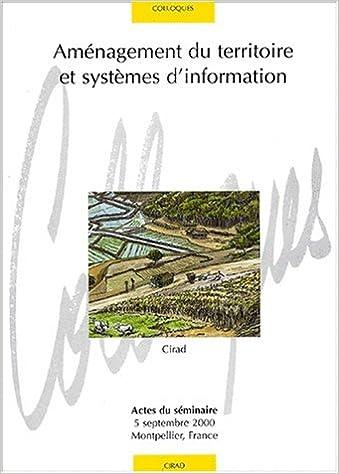 Livres gratuits Aménagement du territoire et systemes d'information epub pdf