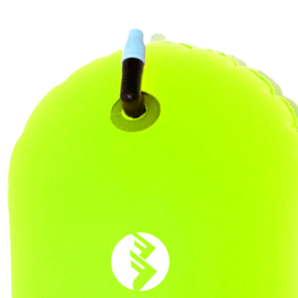 Baosity 2Pcs Waterproof PVC Swim Buoy Tow Float Air Bag Inflatable Swimming Bag with Waist Belt - Lightweight & Highly Visible by Baosity (Image #9)