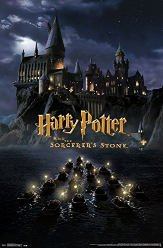 harry potter castle wall poster