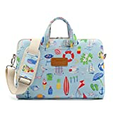 Canvaslife Summer style Pattern 15 inch Waterproof Laptop Shoulder Messenger Bag Case With Rebound Bubble Protection for 14 inch-15.6 inch laptop 15 Case Bag