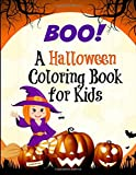 img - for Boo! A Halloween Coloring Book for Kids: Kids Halloween Books book / textbook / text book