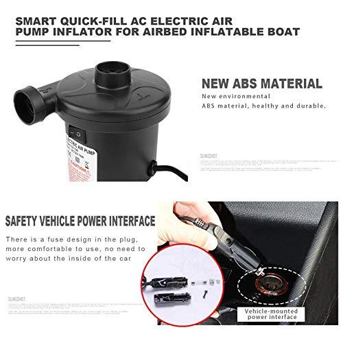 Pompe air électrique gonflage//déflateur pour airbeds paddling piscines /& jouets