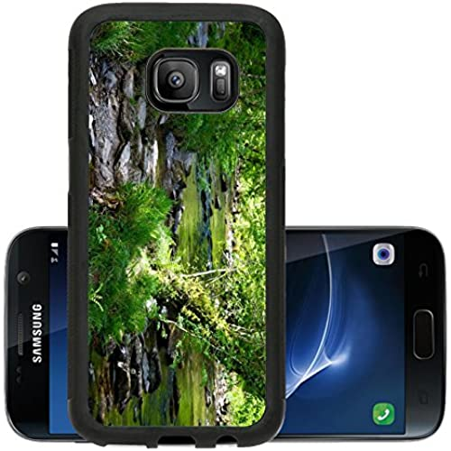 Liili Premium Samsung Galaxy S7 Aluminum Snap Case The riverside walk at historic Tarr Steps Devon IMAGE ID 14172022 Sales