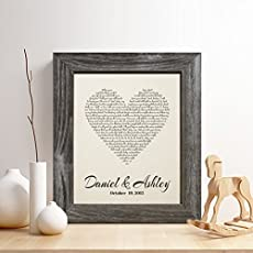 personalized 2nd cotton anniversary gift