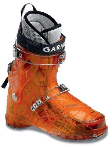 Garmont Literider Ski Boot (Sunrise Orange, 24.5 Mondo) (Boots Touring Garmont Ski)