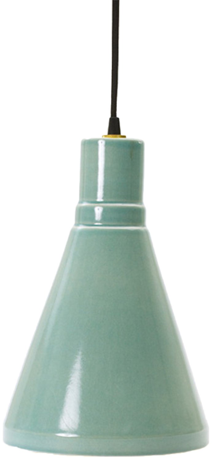 m.r. Lamp & Shade WP-m.r.8795OCEAN Retro Ceramic Pendant Canopy Kit, 13'', Ocean Spray