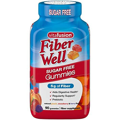 - Vitafusion Fiber Well Gummy Vitamins, 90 ct