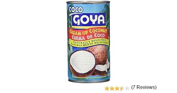Goya Crema de Coco - 1 Lata: Amazon.es: Alimentación y bebidas