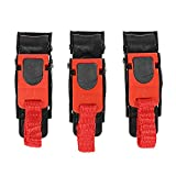 MeiBoAll Motor Helmet Quick Release Buckle Bike ATV Helmet Chin Strap Speed Sewing Clip 3pc
