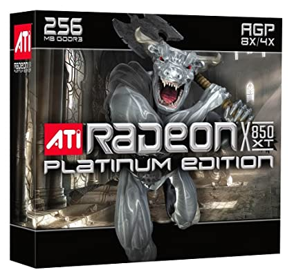 ATI RADEON X850 XT PLATINUM EDITION DRIVER WINDOWS