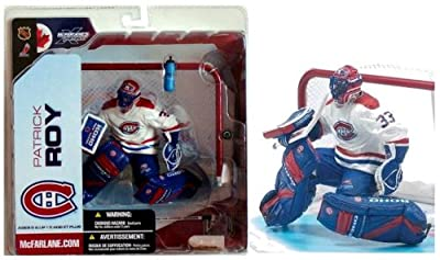 McFarlane NHL 5 Patrick Roy Montreal Canadians White Variant Chase Figure